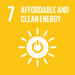 SDG7: Affordable and Clean Energy+image