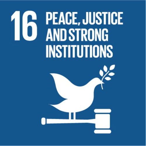 SDG16: Peace, Justice and Strong Institutions (universities)+Image