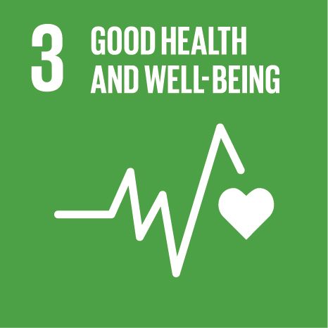 SDG3: Good Health and Well-being (universities)+Image