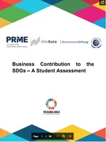 Final Pilot Report: Business Contribution to the SDGs — A Student Assessment+image